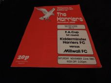 Kidderminster Harriers v Millwall, 1980/81 [FA]